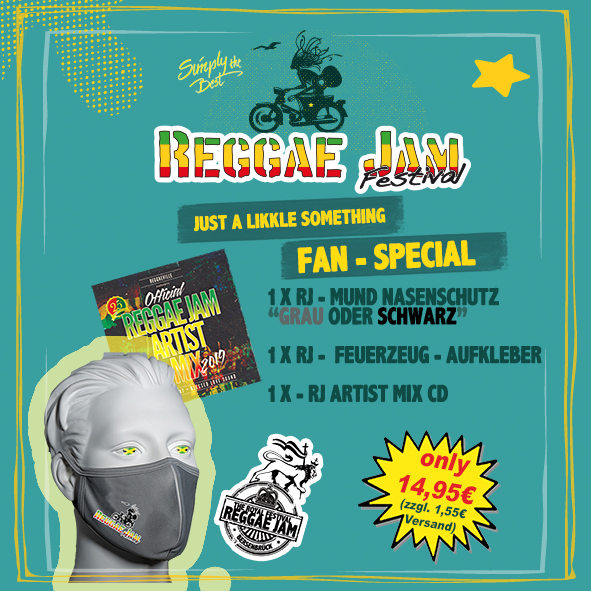 Reggae Jam Fan Package